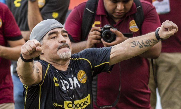 Maradona nuovo allenatore Dorados