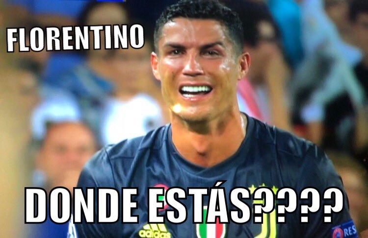 Ronaldo, i meme più divertenti