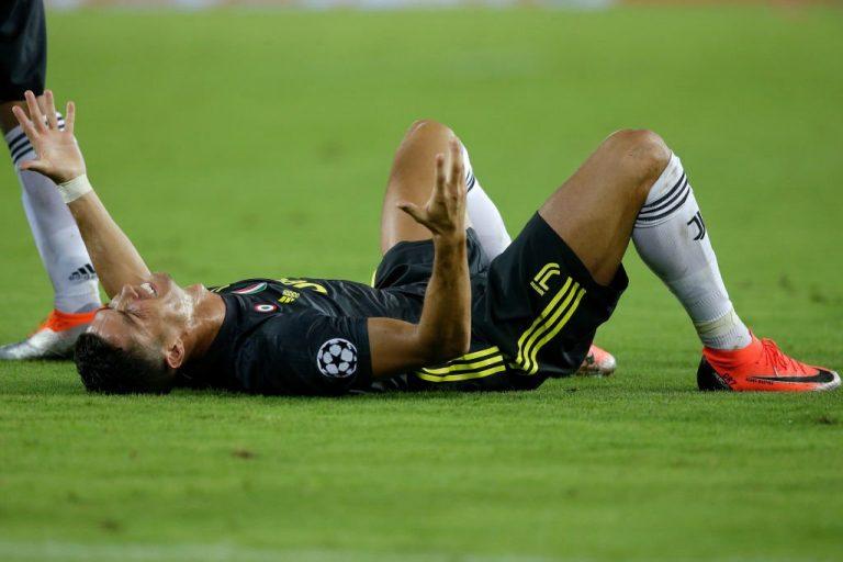 Espulsione Ronaldo