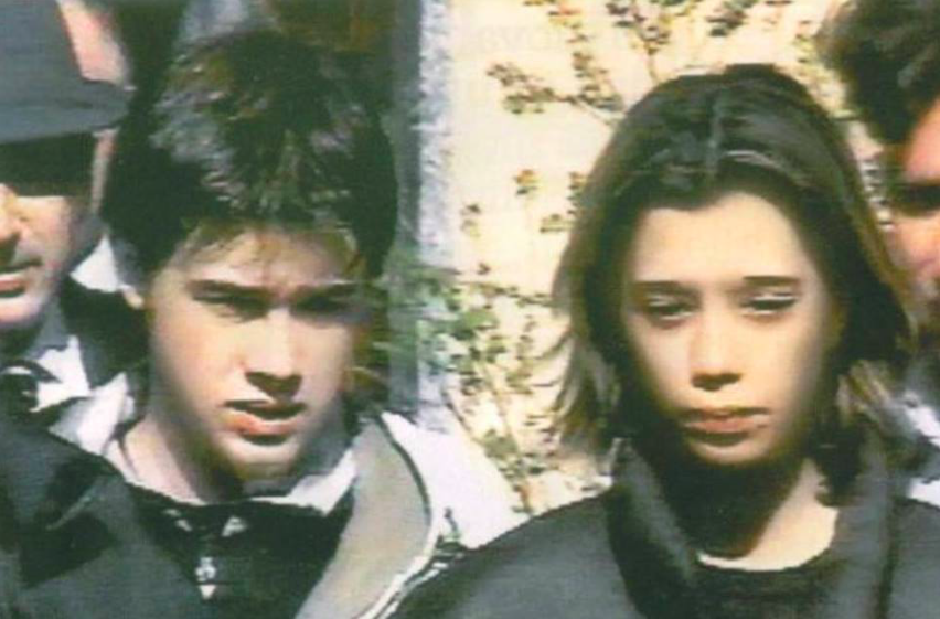 Erika e Omar nel 2001
