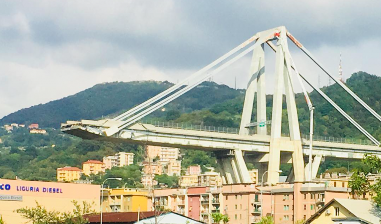 Ponte Morandi, il progetto che piace a Grillo