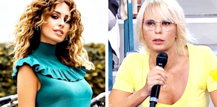 Sara Affi Fella e Maria De Filippi