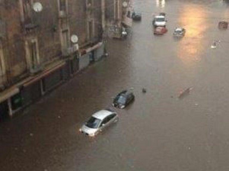 Catania, dopo il nubifragio si contano i danni