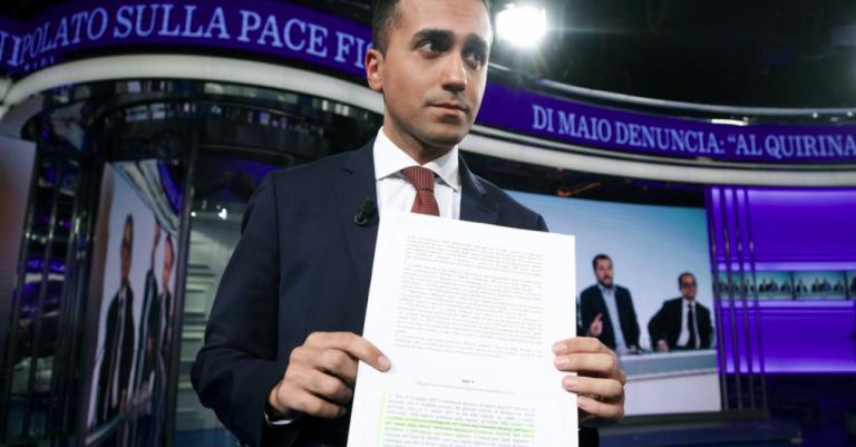 Di Maio, gli errori nelle dichiarazioni da Vespa
