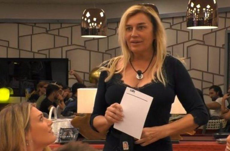 Gf Vip, Lory Del Santo si scontra con Elia Fongaro