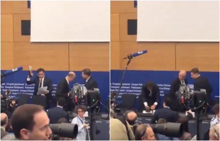Manovra, il leghista Ciocca calpesta le carte di Moscovici