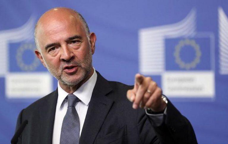 """Moscovici: """"L'Ue imploderebbe per colpa di Salvini e Orban"""""""
