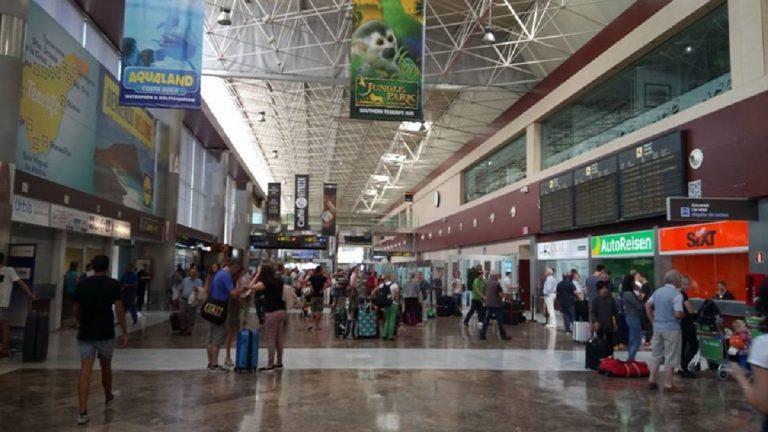 aeroporto tenerife