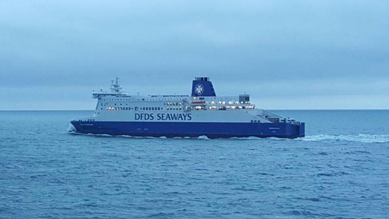 dfds seaways traghetto incendio
