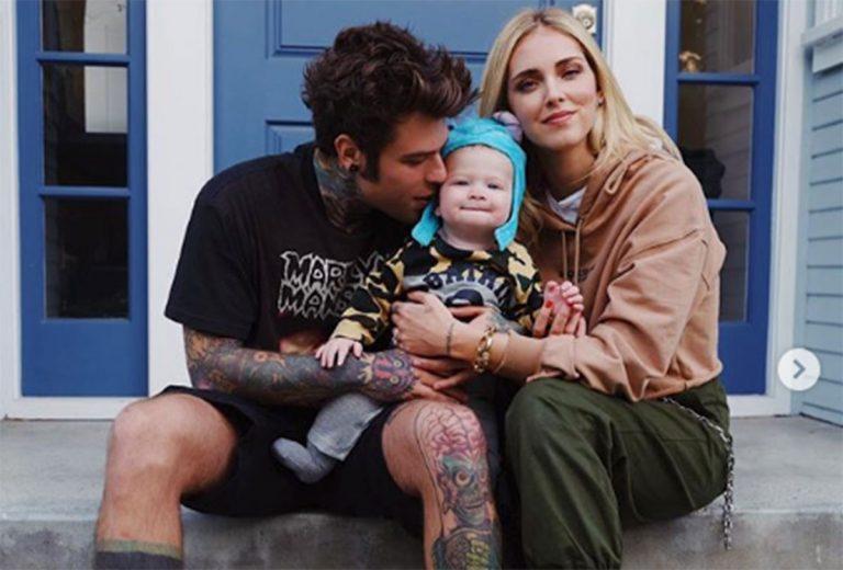 Fedez e famiglia