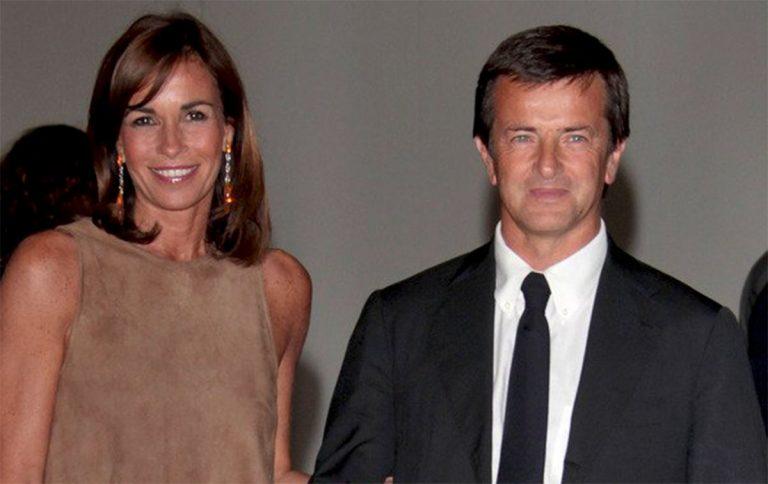 Cristina Parodi con il marito Giorgio Gori