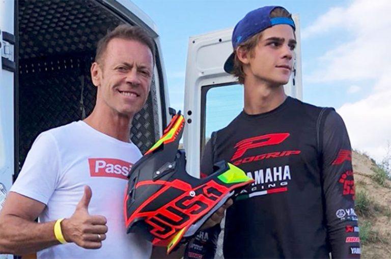 Rocco Siffredi con il figlio Leonardo Tano
