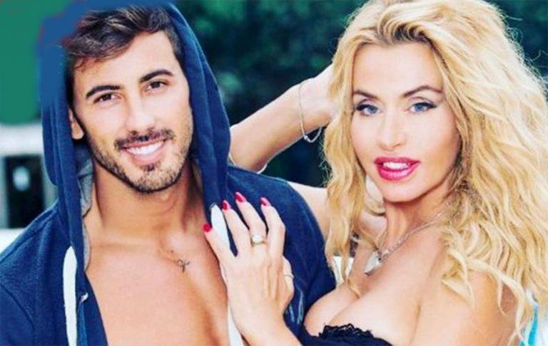 Valeria Marini con Ivan Gonzales