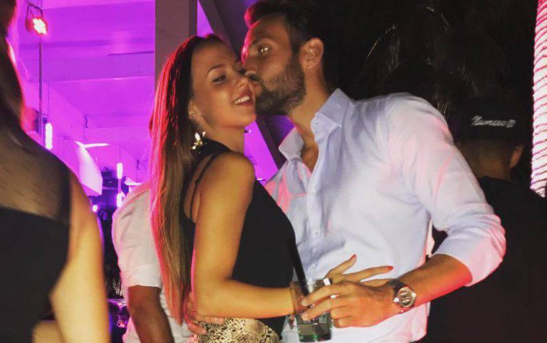bacio Zenga e Sgolastra