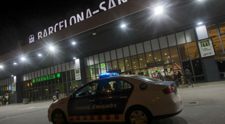 Barcellona allarme bomba