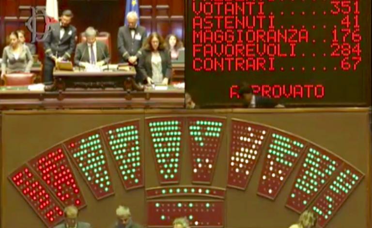 Decreto Genova approvato alla Camera