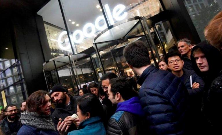 Google walkout contro le molestie