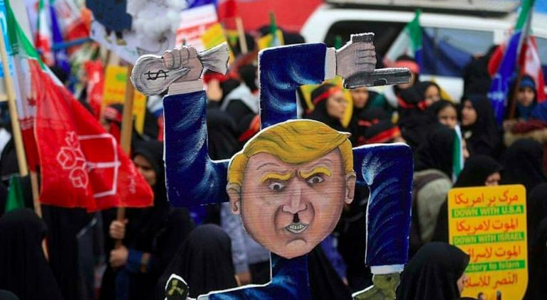 Iran, protesta contro sanzioni Usa