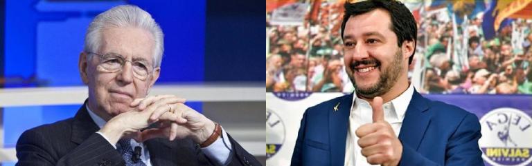 Mario Monti Matteo Salvini