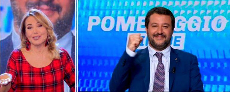 Matteo Salvini da Barbara D'Urso