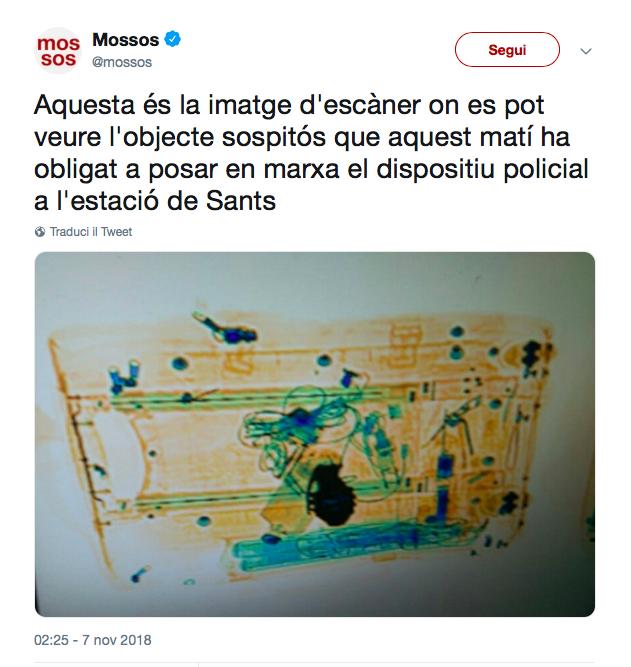 Tweet Mossos