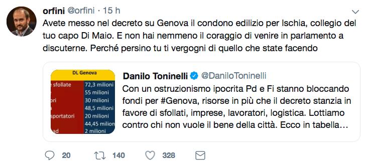 Tweet Orfini