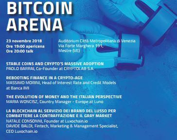 bitcoin arena evento 1