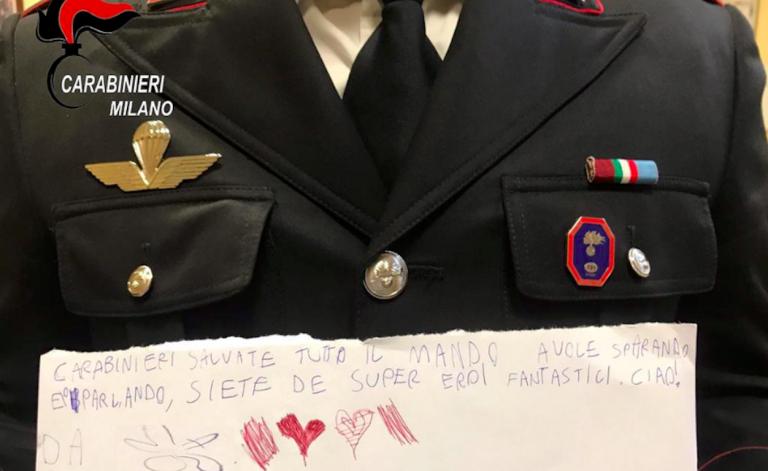 Carabinieri bambino