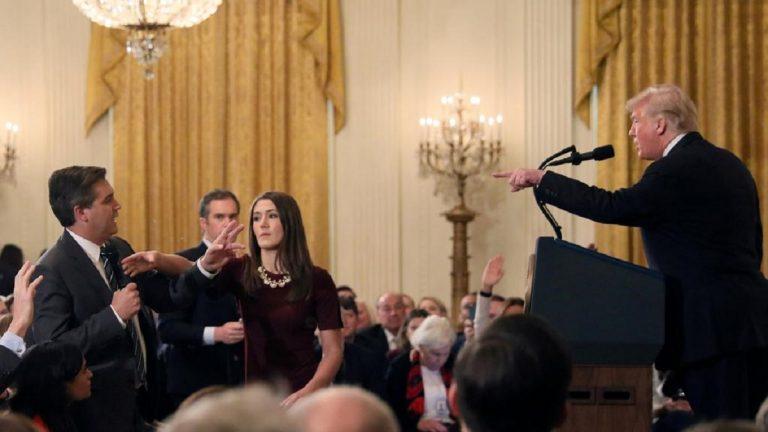CNN vince la causa contro Trum: Jim Acosta deve riavere il pass