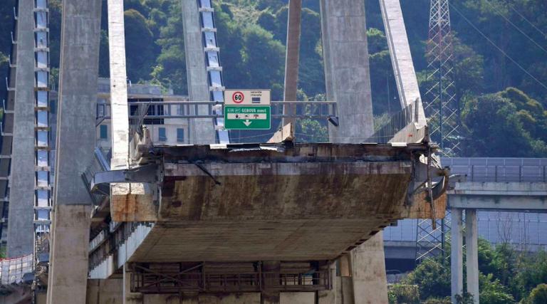 crollo ponte morandi testimonianza