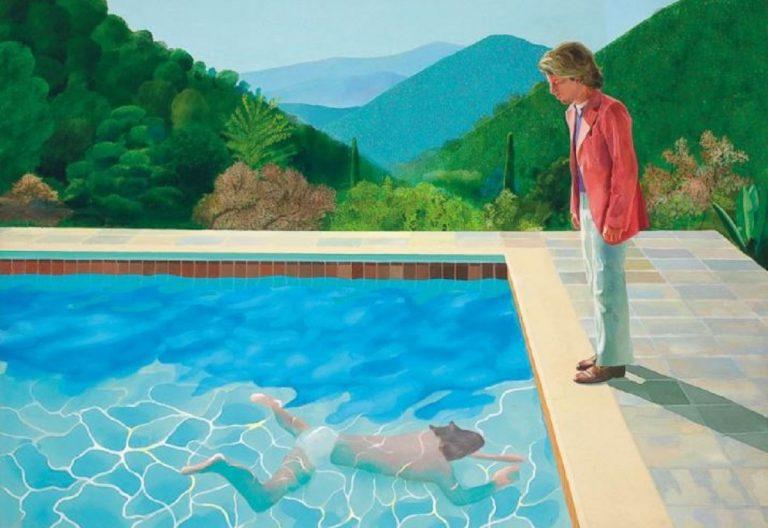 David Hockney dipinto