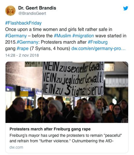 fruburgo stupro gruppo manifestazione