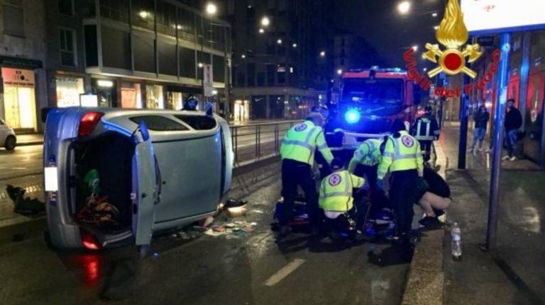 incidente stradale milano