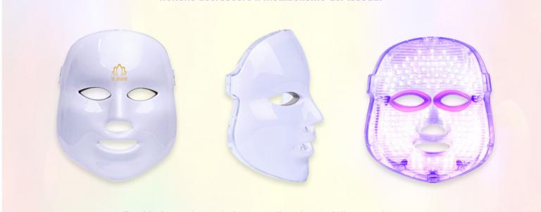 Maschera led fotobiostimolazione.