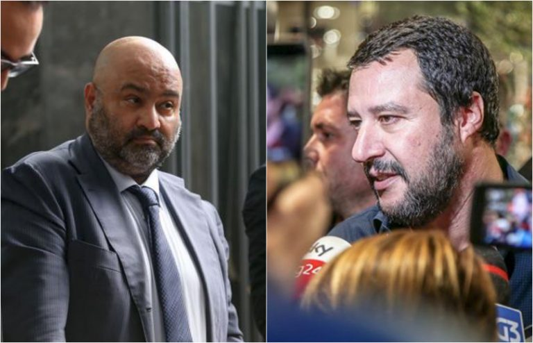 Salvini querela Belsito