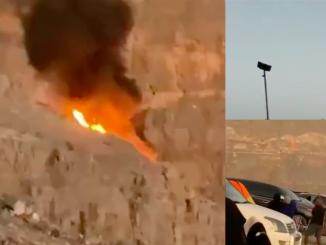emirati arabi elicottero precipita