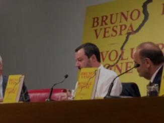 Enrico Mentana Matteo Salvini