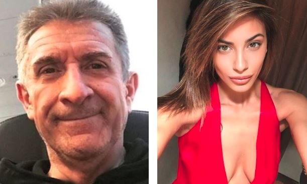 ezio greggio e romina pierdomenico foto instagram 2