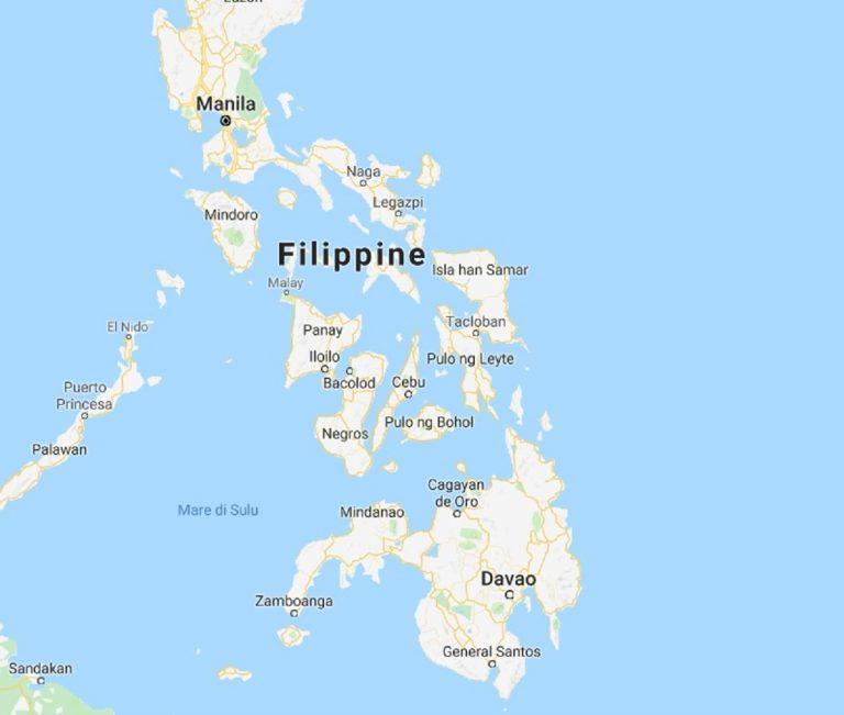 Violentissima scossa di terremoto nelle Filippine, gli esperti: magnitudo 7.2
