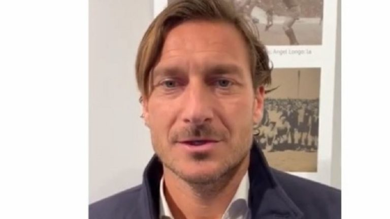 Francesco Totti messaggio