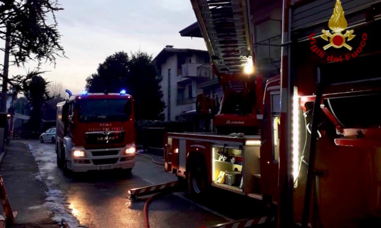 Incendio in abitazione ad Arezzo
