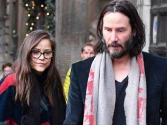 Roma, Keanu Reeves piange mentre passeggia con la sorella