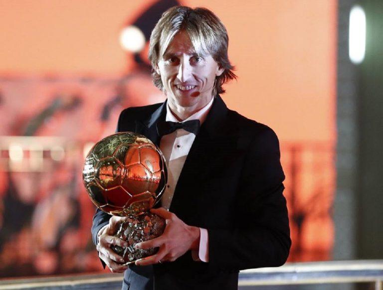 Modric conquista il Pallone dOro