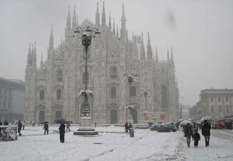 Meteo Brescia: neve in pianura tra 13 e 14 dicembre 2018