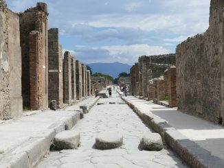 Ritrovato a Pompei il cavallo bardato del generale