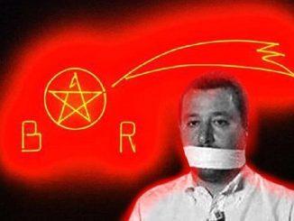 La provocazione del Bansky torinese: Salvini rapito dalle BR
