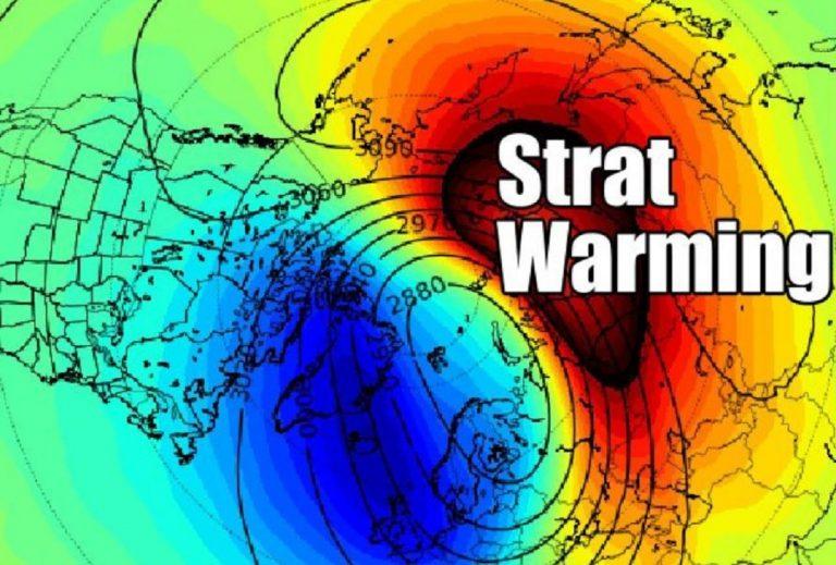 strat warming