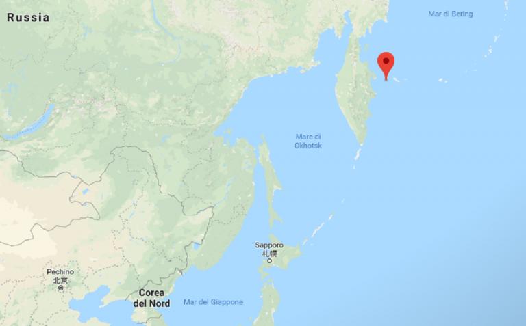 Russia, terremoto: scossa di magnitudo 6.1 nel Pacifico
