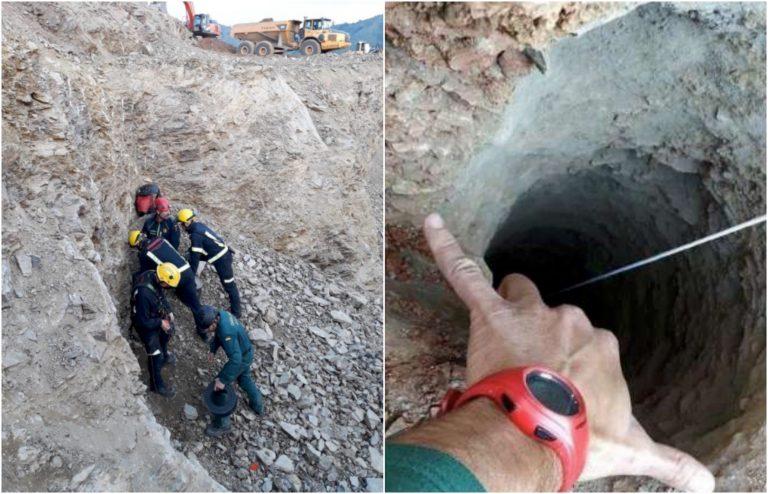 Bambino caduto nel pozzo, minatori nel tunnel
