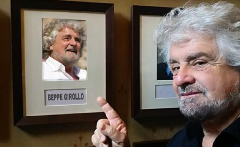 Beppe Grillo a Oxford